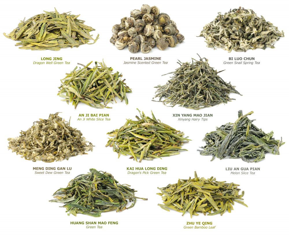 10 famous Chinese green teas