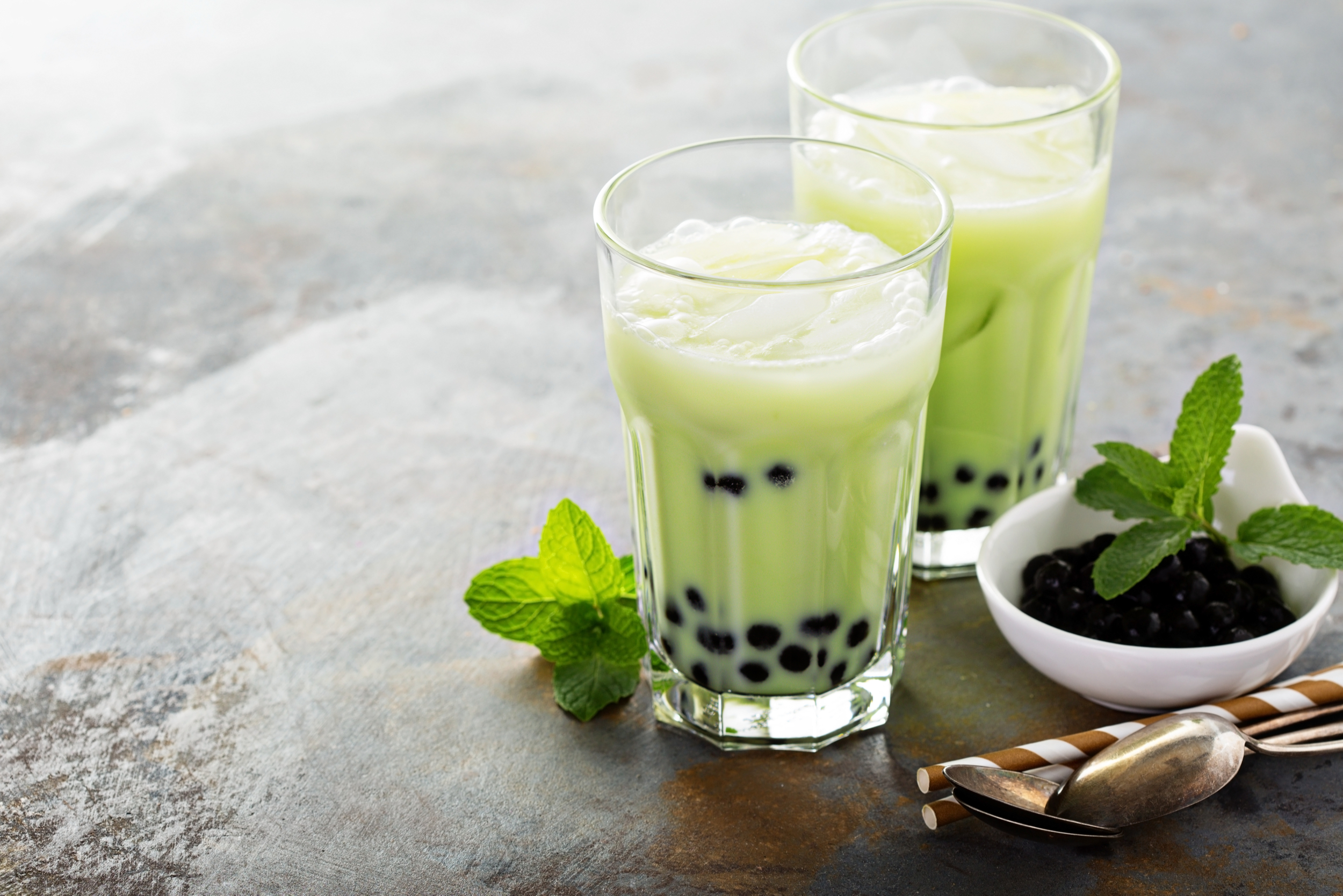 Green Milk Tea