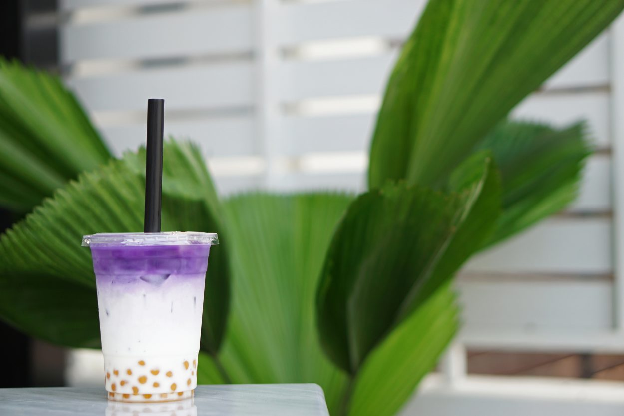 Lavender Milk Tea