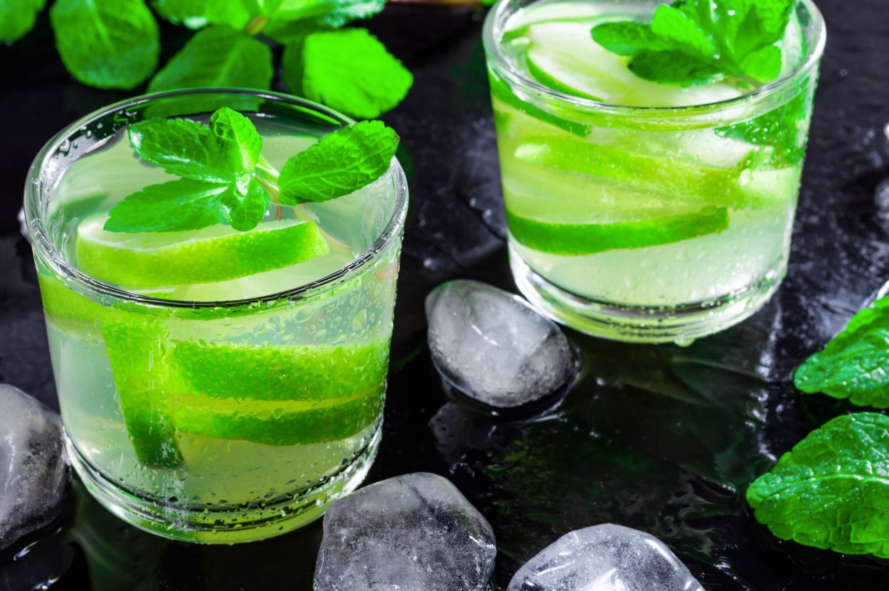 green tea shot cocktail