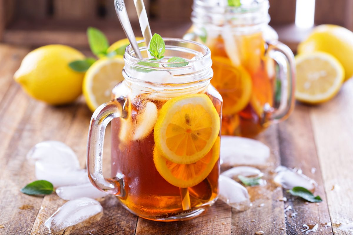Orange and Rooibos Iced Tea